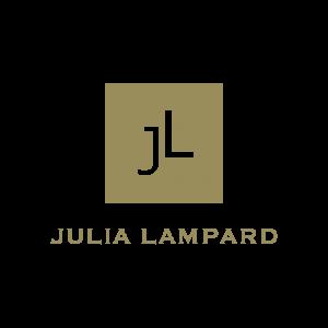 Julia Lampard logo gold