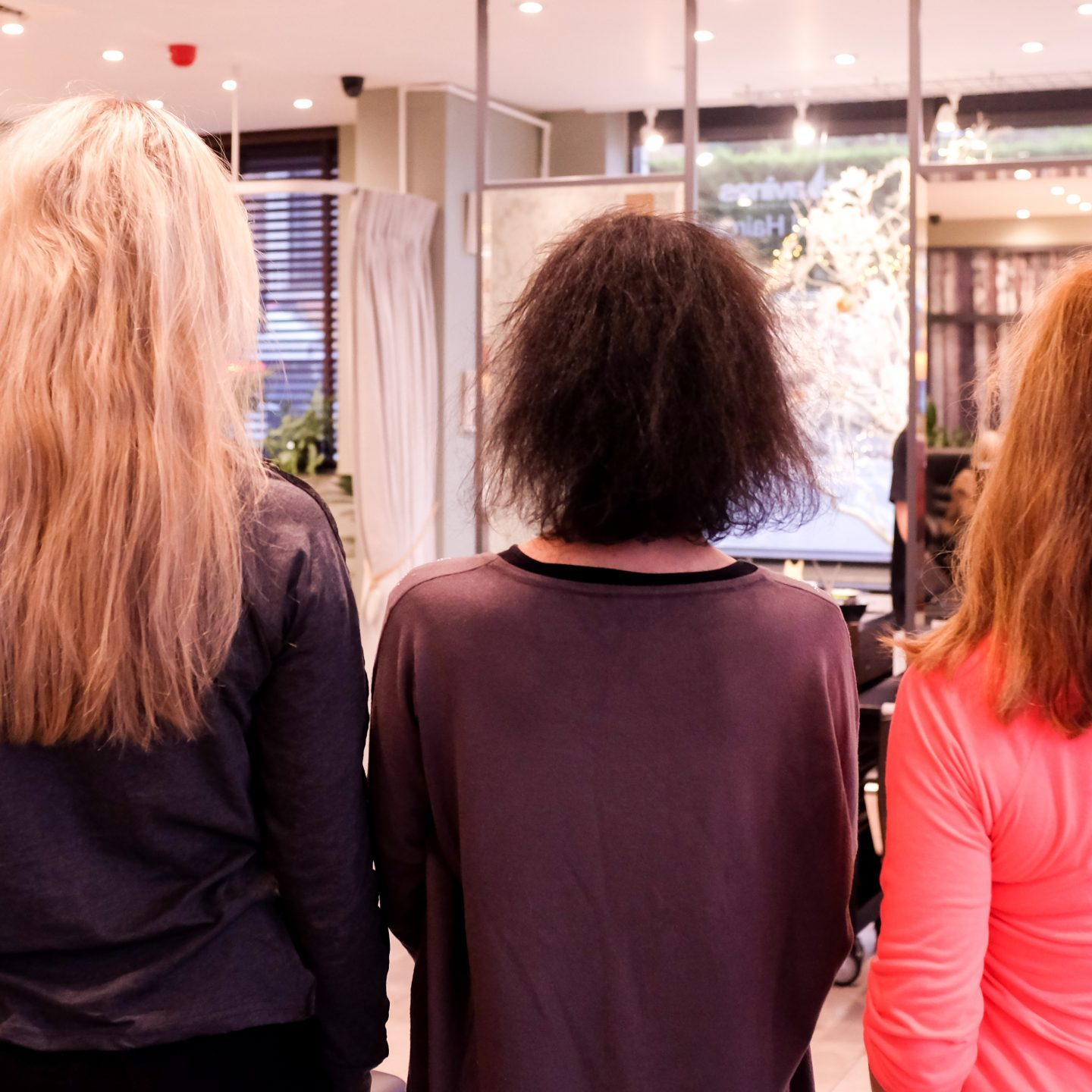 Keratin Straightening and Thickening Treatments